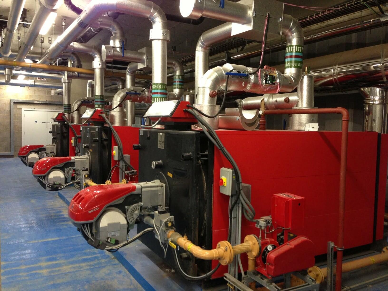 Osiers Gate boilers
